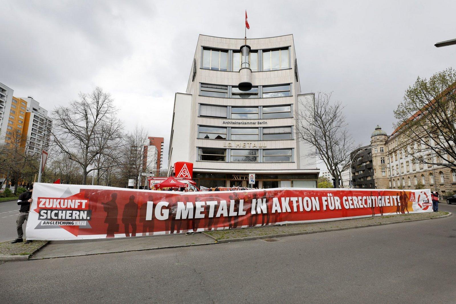 Tarifrunde 2021 :: IG Metall Berlin