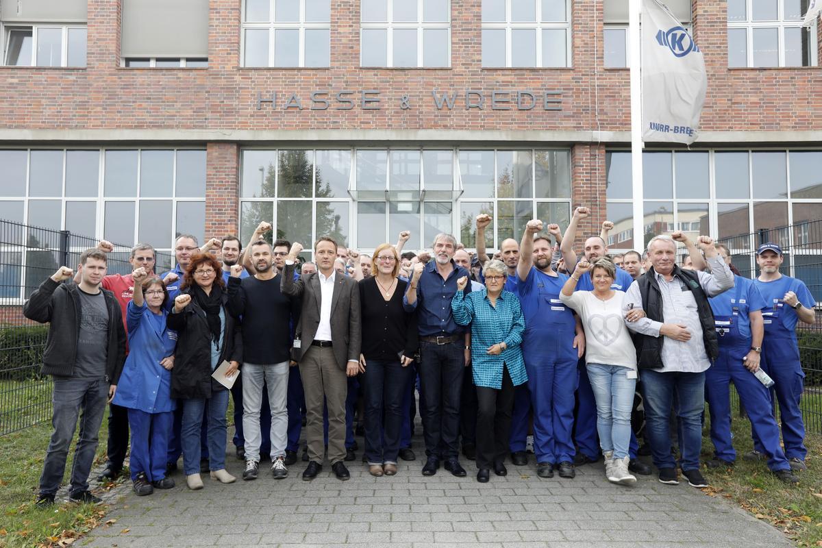 Knorr Bremse Schließt Berliner Traditionswerk Ig Metall Sichert 60